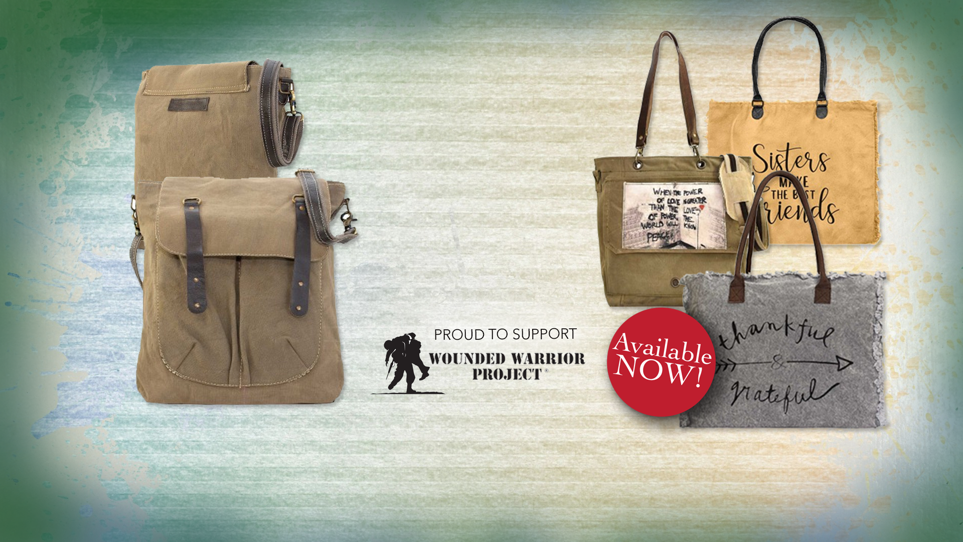 Recycled Military Tent Bags